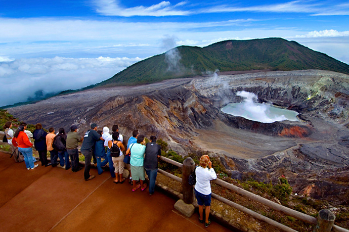 The History Of The Volcanic Activity Of The Colossal Poas