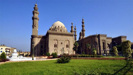 Mosque-Madrasa Sultan Hassan (Nhà thờ Hồi giáo-Madrassa của Sultan Hassa)