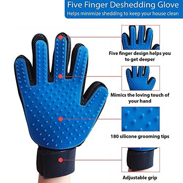 Характеристики чесалки Pet Brush Glove