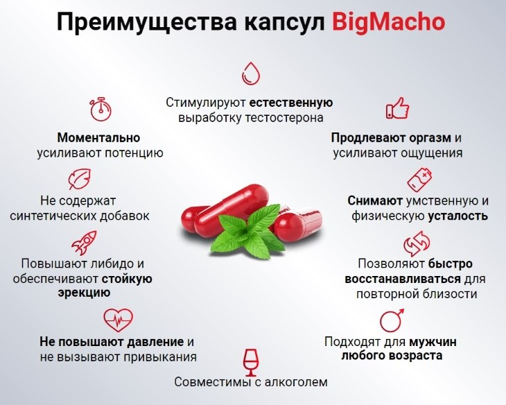 Преимущества Big Macho