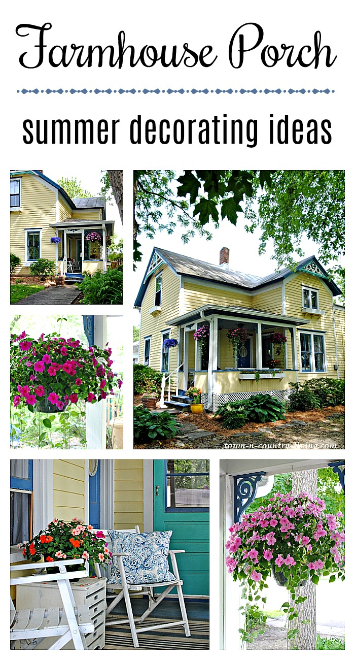 Ideas Decorating Your Front Porch