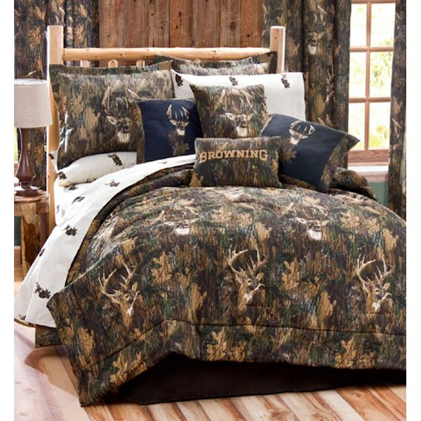 Browning Camo Deer Comforter Sets By Kimlor Townhouse Linens