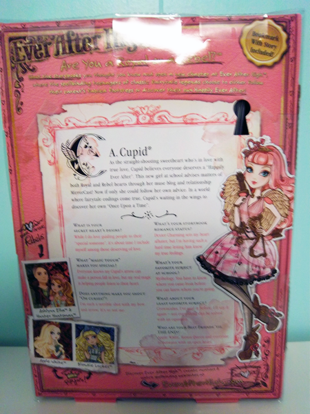Review Ever After High Basic C A Cupid The Toychest