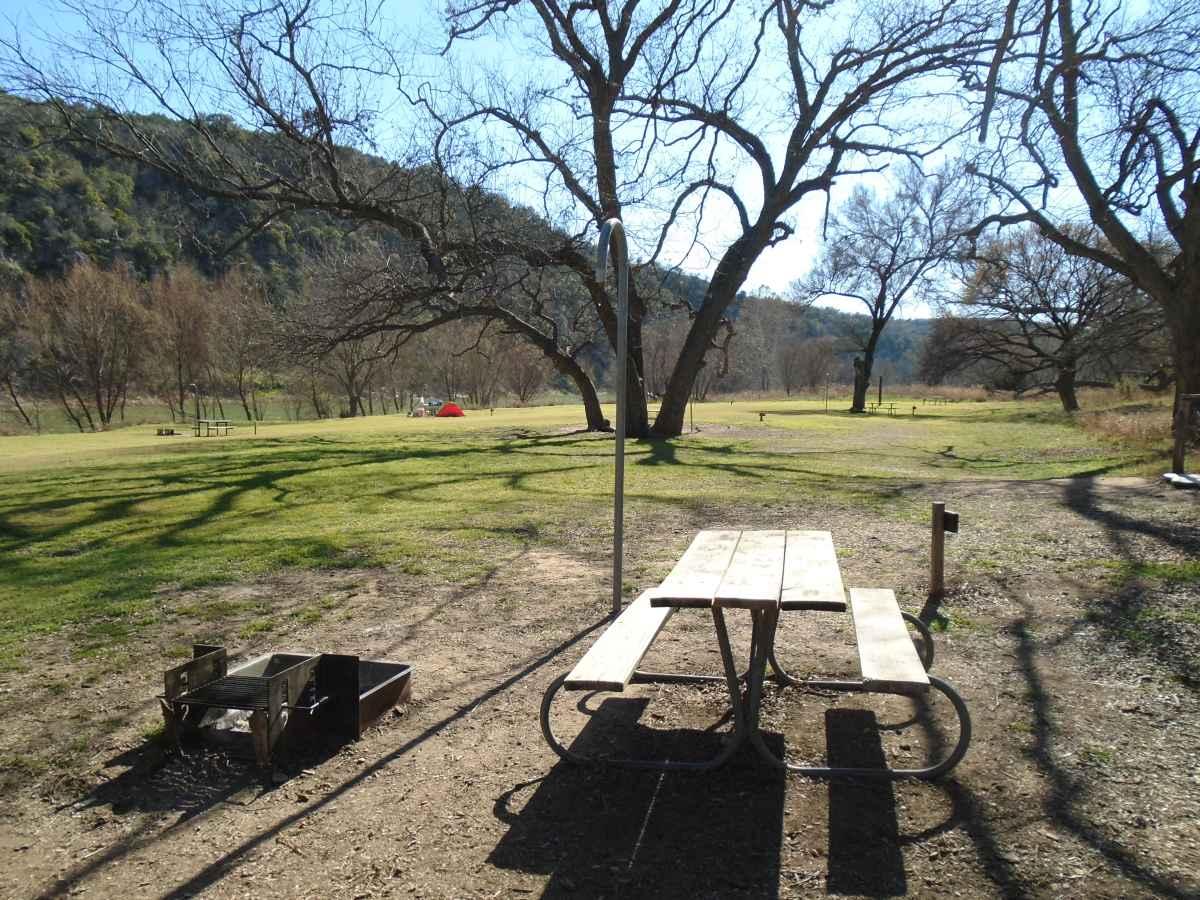 Colorado Bend State Park Primitive Campsites Walk In