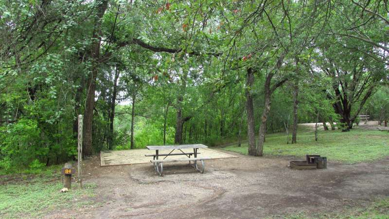Guadalupe River State Park Campsites With Water Walk In