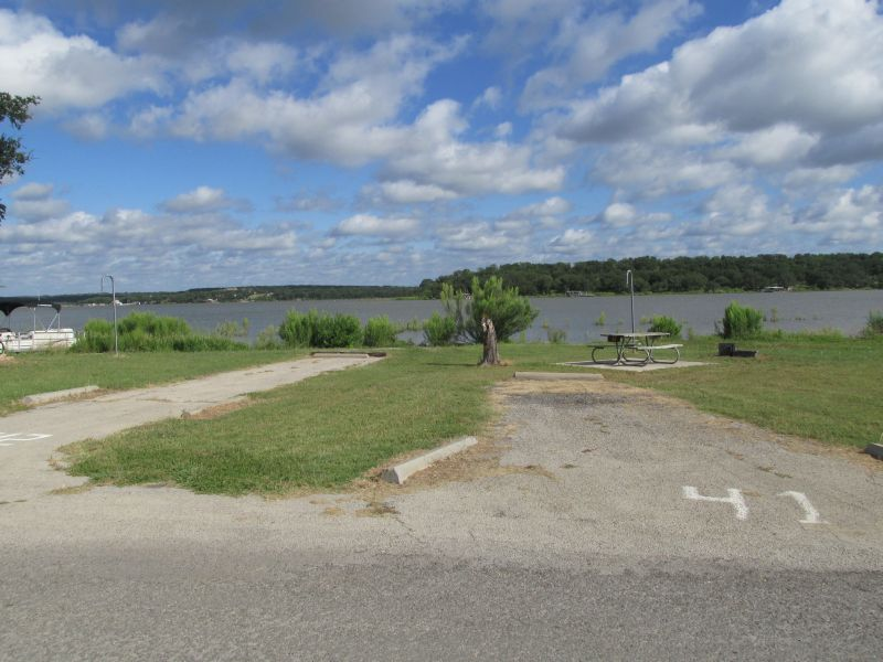 Lake Brownwood State Park Campsites With Water Texas