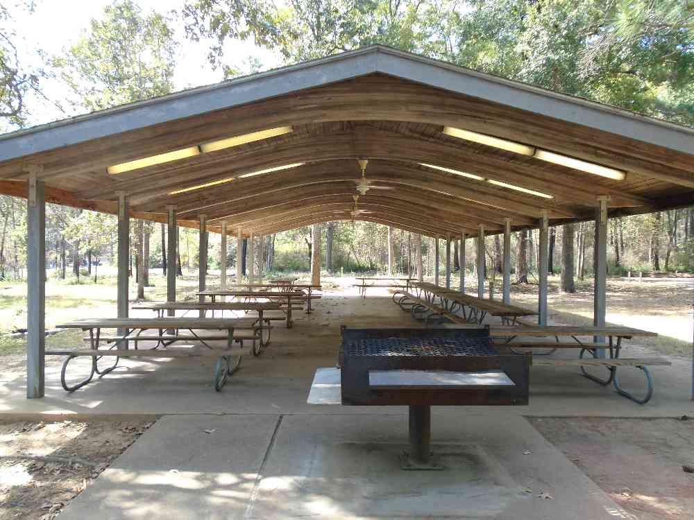 Martin Creek Lake State Park Pavilion Texas Parks