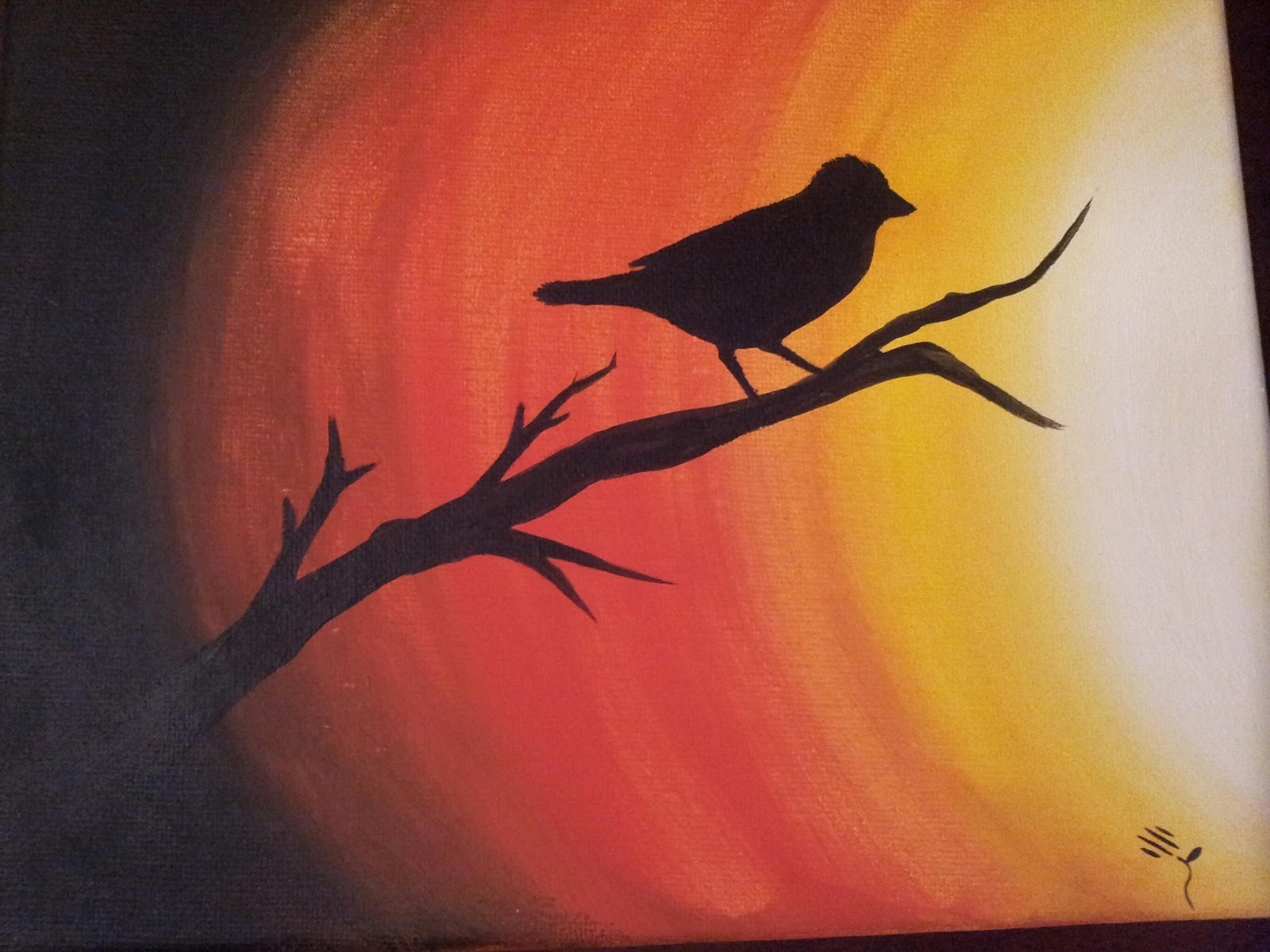 easy canvas paintings - HD1600×1200
