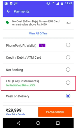 Flipkart Debit Card EMI - 2