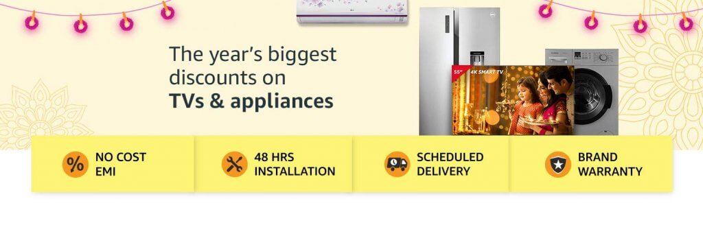 Sale offers on Home Appliances