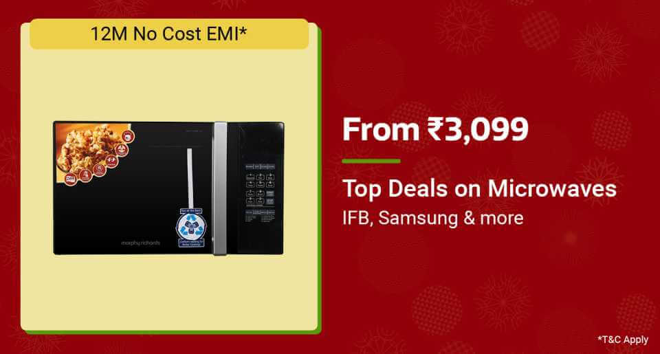 Top Deals on Microwaves