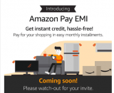 Card-Less EMI using Amazon Pay – Instant Credit up to ₹60,000