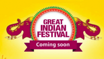 Amazon Great Indian Festival Sale 2019 – Dates, Offers