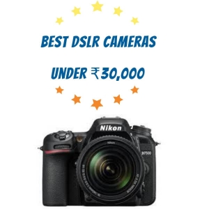 Best DSLR Camera between 20000 to 30000 online on Amazon and Flipkart [2018]