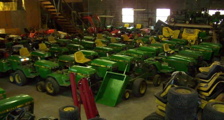 Mower Salvage John Deere