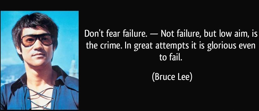 Bruce Lee Goals Life