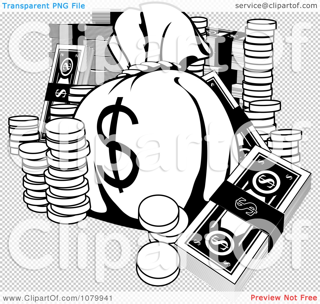 Money Bag Transparent Background