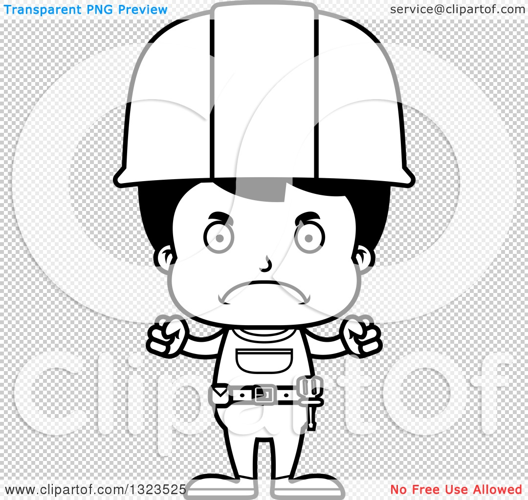 Mexican Construction Worker Cartoon