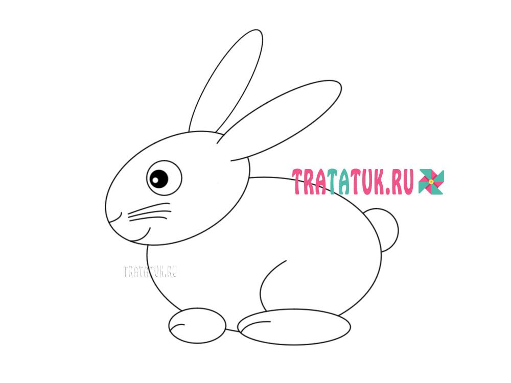 Làm thế nào để vẽ một con thỏ
