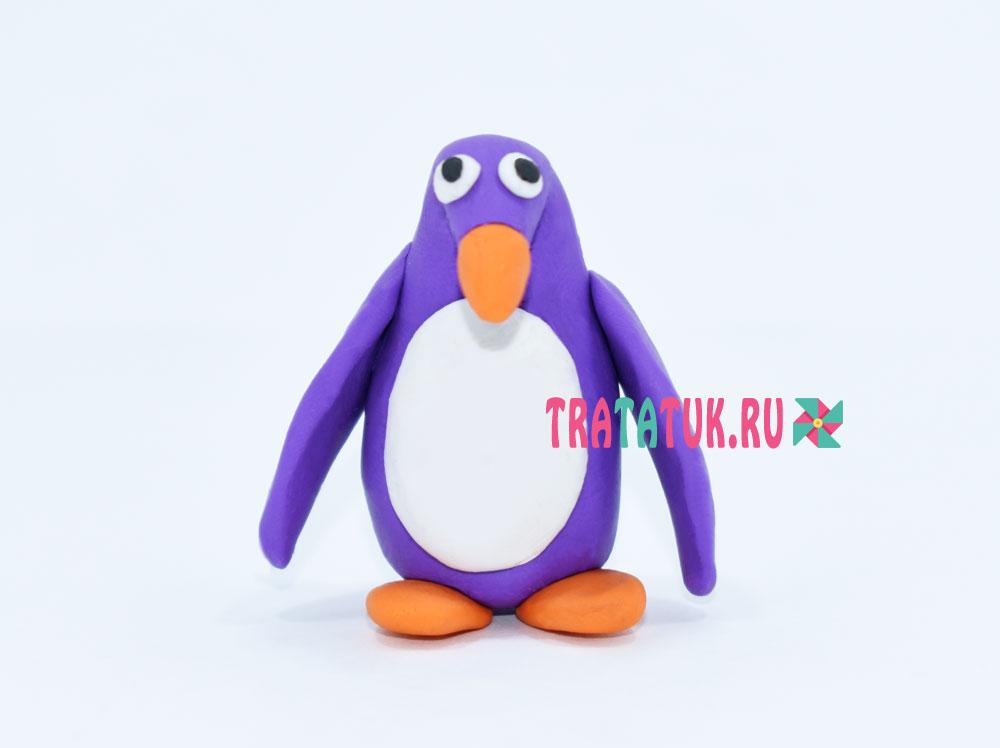 پنگوئن از پلاستیک