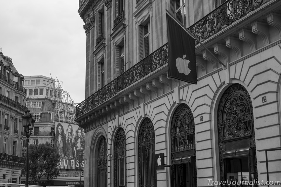 Apple Store Opera Paris France     TravelJournalist com Apple Store Opera Paris France