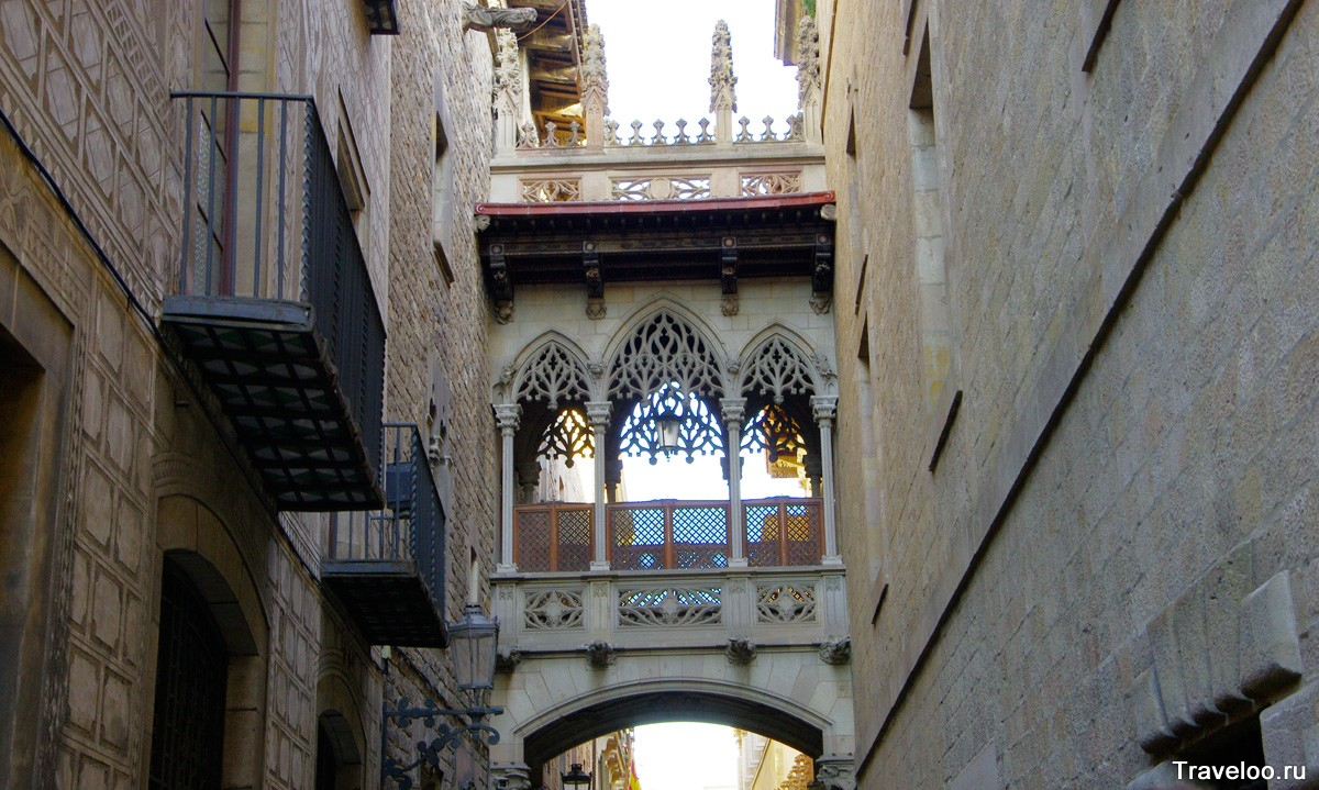Gótikus negyed Barcelonában