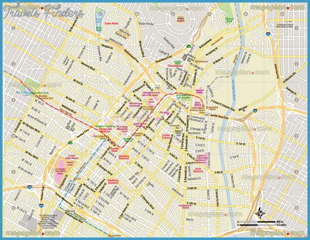 Downtown La Fashion District Map