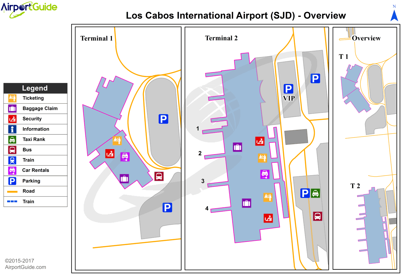 And Jose Cabo San Lucas Map San Cabo