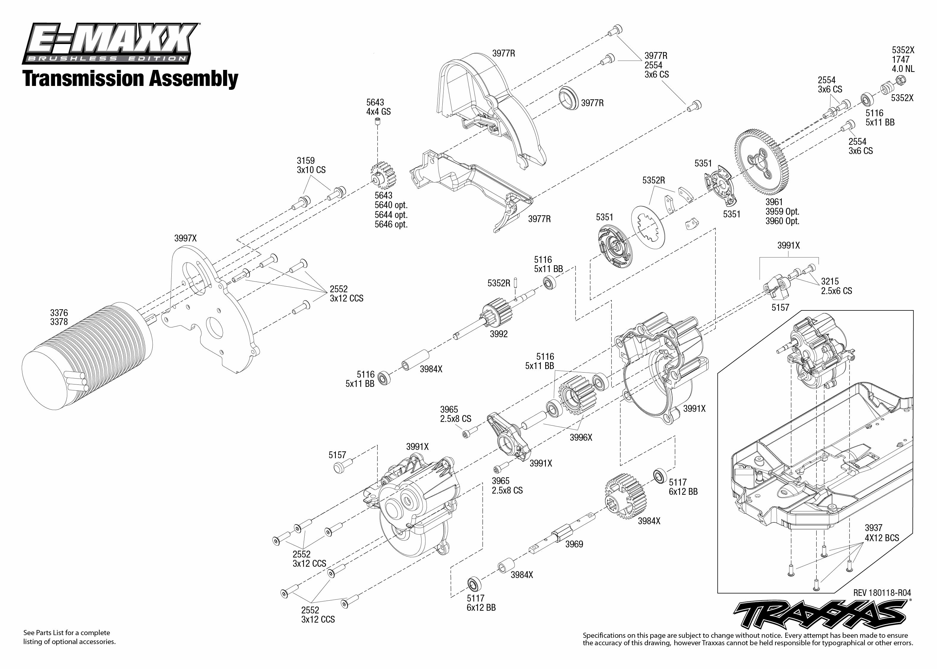Nitro Rustler Parts Diagram Traxxas