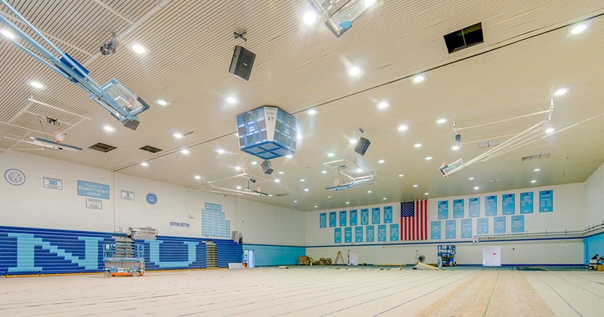 Led Gymnasium Lighting
