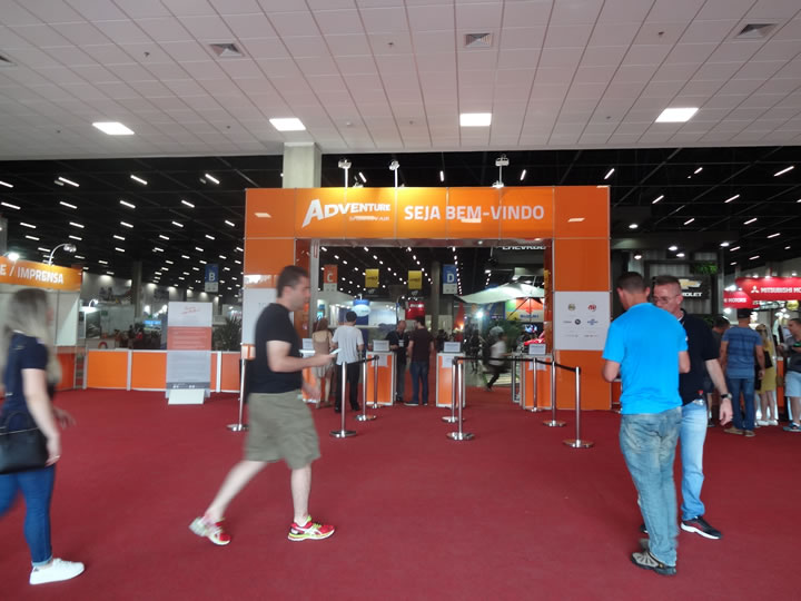 Entrada da Adventure Sports Fair 2016 | Foto: Luiza Campello