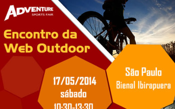 Encontro da Web Outdoor na Adventure Sports Fair