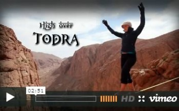 Highline – High over Todra