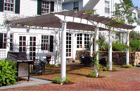 Columned Pergola No Cp3 By Trellis Structures