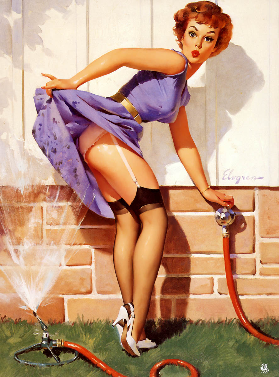 ART on Pinterest | Jack Vettriano, Gil Elvgren and Patrick ...