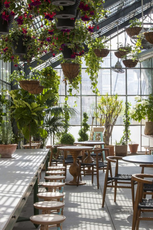 Greenhouse Eating At The Ace Hotel La Trendland