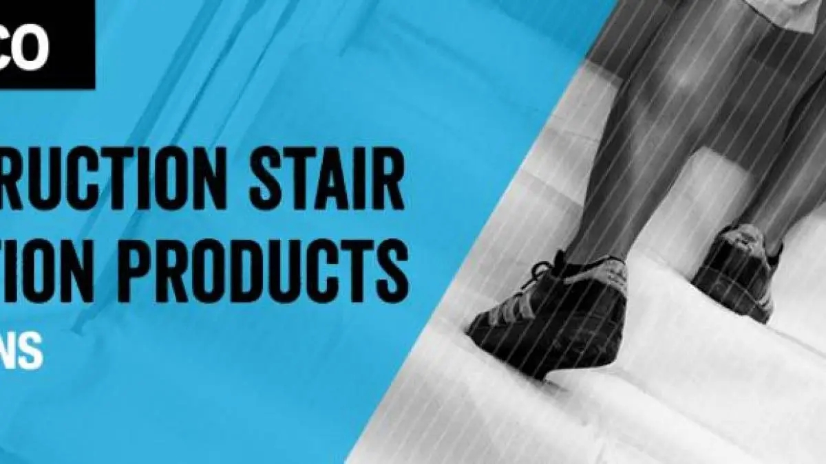 Five Construction Stair Protection Products Trimaco | Protecting Carpet On Stairs | Stair Treads Carpet | Carpet Mats | Non Slip Mat | Self Adhesive | Flooring