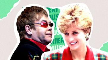Lady Diana aveva consolato l'amico Elton John, asciugando le sue lacrime, una ad una, dura…