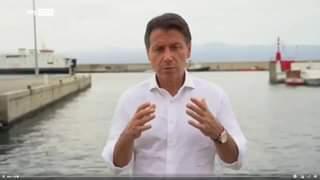 """""""Non va bene, dobbiamo ripartire tutti insieme"""", ha detto l'ex premier Giuseppe Conte, rep…"""