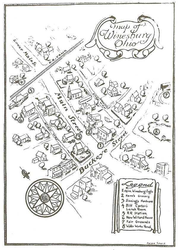 Map Maycomb Kill Mockingbird Description