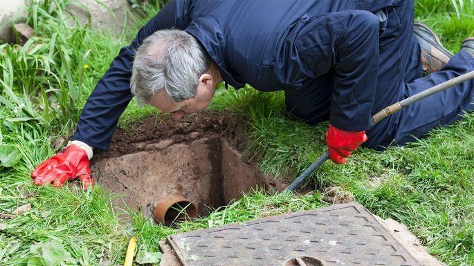 чистка наружной канализации