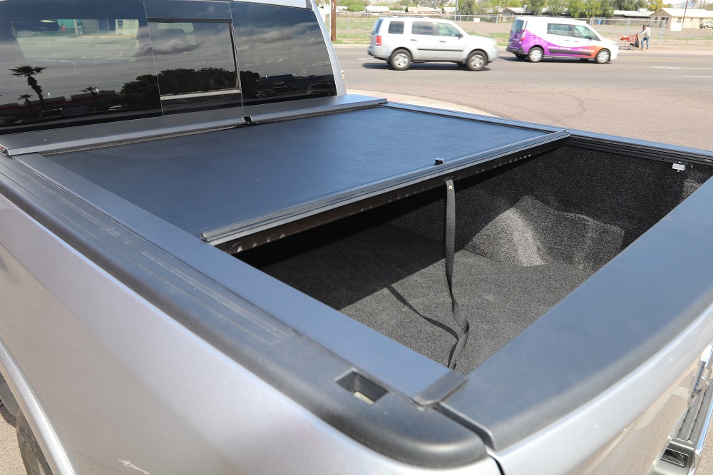 Roll N Lock M Series Retractable Cover Truck Access Plus