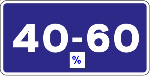 Evaluați 40-60%