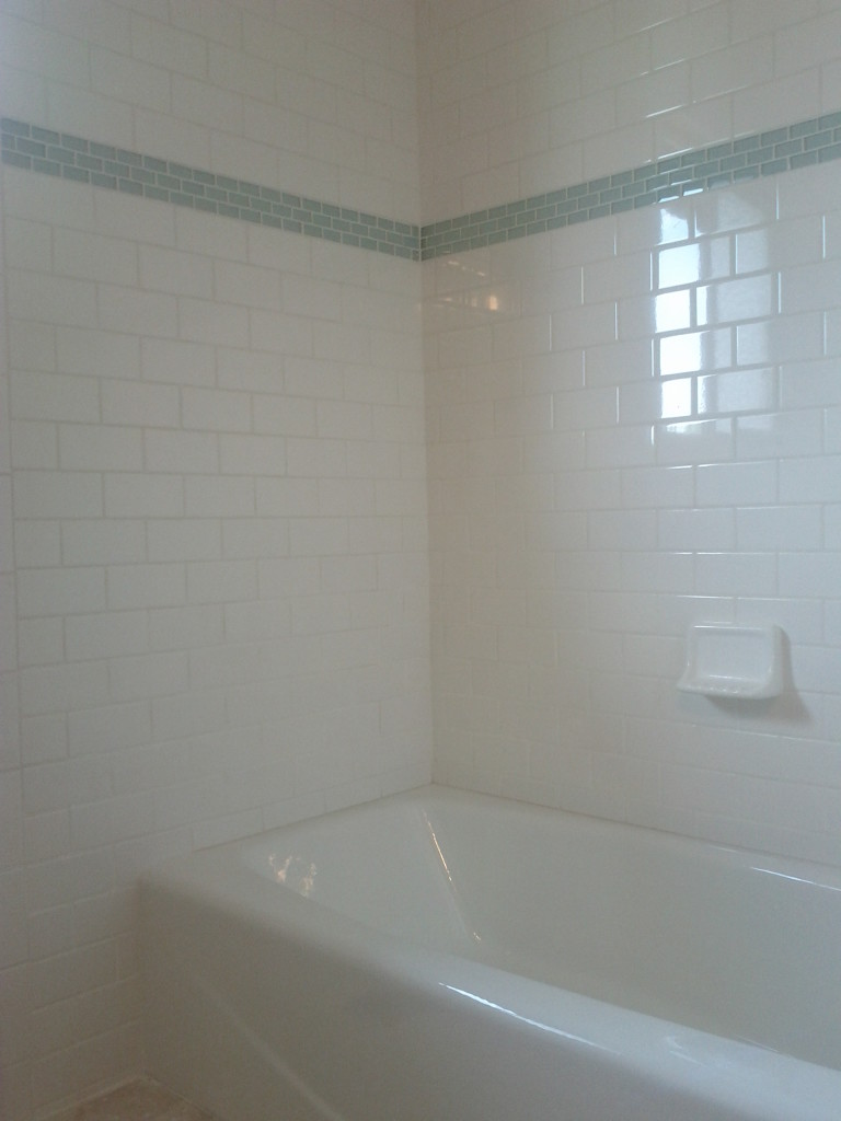 Classic Subway Tile True North Homes Llc