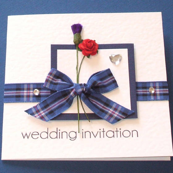 Rustic Wedding Invitations Glasgow