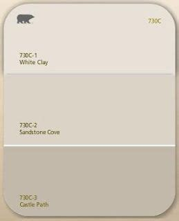 hallway living room color sandstone cove beige