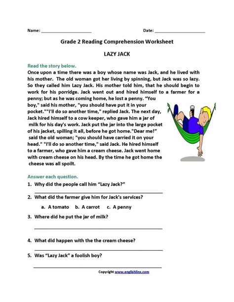 Easy Reading Worksheets For 2nd Grade.html