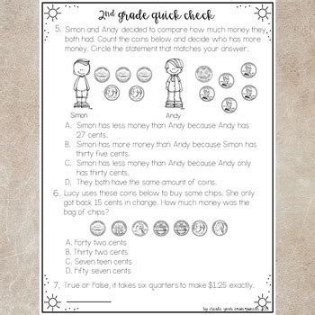End Of Year 2nd Grade Math Worksheets.html