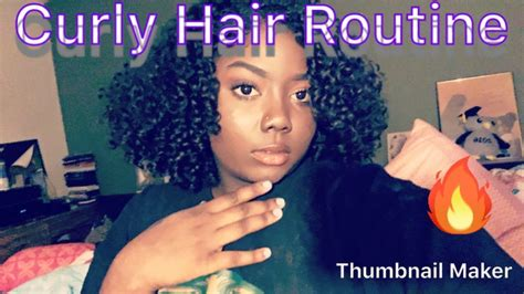 wash curly hair routine youtube