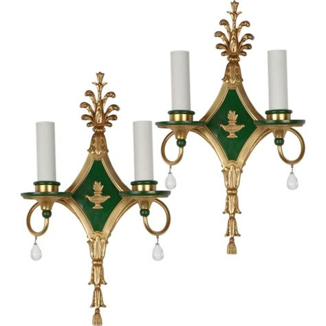 1stdibs pair antique caldwell sconces sconces antiques wall